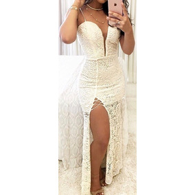 Vestido Longo Festa Madrinha Casamento Formatura #vl8 Amo