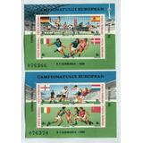 Futbol Deportes Rumania Serie Completa De Estampillas Mint