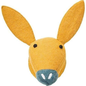 Kare Decoracion De Pared Felt Donkey Head (36431)