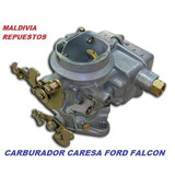 Carburador Caresa 1 Boca Tipo Holley Ford Falcon 221 F 100
