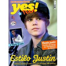Revista Pôster Justin Bieber Novíssima! = Pôster 42 X 52cm!