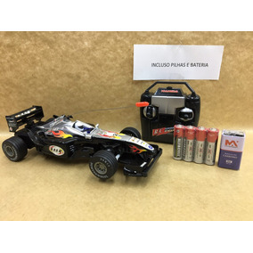 Carro Carrrinho Formula 1 Controle Remoto,acompanha Pilhas