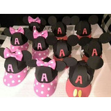 Gorros En Goma Eva Mikey Minnie Cars Hulk Spiderman Kitty