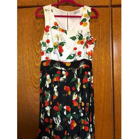 53f0b5b96 Vestido Florido Riachuelo - Vestidos no Mercado Livre Brasil