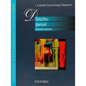 Derecho Penal Griselda Amuchategui Requena Ebook