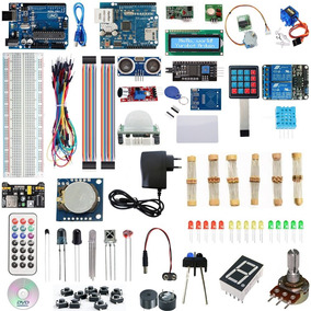 Kit Arduino Uno R3 Avançado + Curso + Ethernet Shield