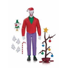 Joker Navideño Dc Collectibles Batman Animado