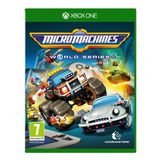 Micro Machines Worlds Series Xbox One Midia Fisica Pré Venda
