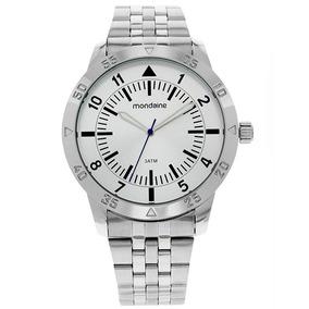 f92a922c5b5 Relogio Masculino Prata - Relógio Mondaine Masculino no Mercado ...
