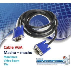 Cable Vga Para Monitores, Video Beams Y Otros [svcc]