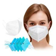 Máscara Respiratória Proteção Pff2 Kn95 Fda Anvisa