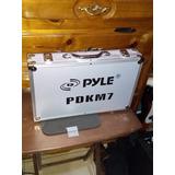 Set De Micrófonos Para Batería Acústica Pyle Pdkm7
