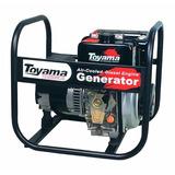 Gerador Toyama Diesel Td2500cs 5h 2kva 110e220v Part Manual