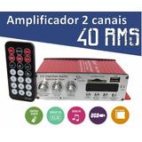 Mini Modulo Amplificador Ideal Para Som Ambiente Sf