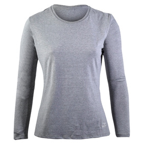 Remera Topper Basica Mujer Gris
