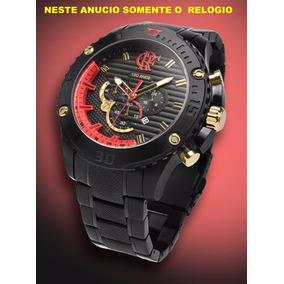 Relógio Technos Flamengo Flaos2aaa/3p Frete Gratis