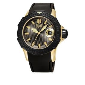 Relógio De Pulso Mostrador Preto Preto Silicone - Relógio Masculino ... b301a6bdc9