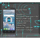 Alcatel Flint 5.5 Pulgadas 16gb 1.5 Ram 4g (somos Tienda)
