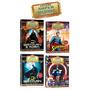 Coleção 5 Dvds Super Heróis Do Cinema Superman Batman