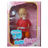 Juguete Muñeco Baby Rose Felipe Artículo 11418