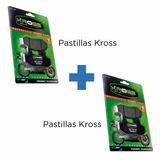 Combo Pastillas Delantera + Traseras Kross Akt Ak 200 Sm/ Xm