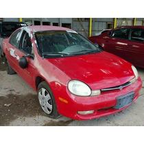 Dodge Neon 2000-2002: Sensor De Velocidades