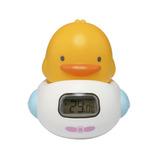 Termometro Baño Masajeador Digital Bebe Blanco Piyo Piyo