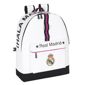Bolso Morral Real Madrid Fc Original Safta Grande Escolar