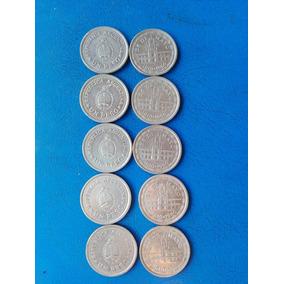 Lote De 10 Monedas Antiguas Argentina Año 1810-1960