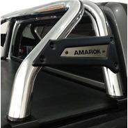 Barra Antivuelco Cromada Amarok Ranger Hilux S10