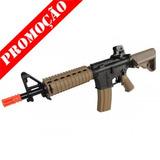 Rifle Airsoft M4 A1 +1000bbs 0,12g Frete Grátis/12x