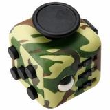 Cubo Antiestres Ansiedad Tension Fidget Cube Camuflaje J1111