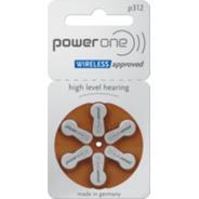 Pila Power One 312 - Blister Por 6 Unidades