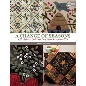 Livro de quilt livros no mercado livre brasil a change of seasons folk art quilts livro de bordado fandeluxe Choice Image