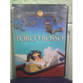 Dvd Porco Rosso Ghibli Anime Caricaturas Manga