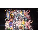 Luchadores De Plastico No Toxicos Nuevos 12 Pzas