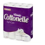 Papel Higiénico Kleenex Cottonelle Soft Care Con 40 Piezas