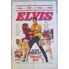 Elvis Presley Tickle Me 1965 Cartaz Original Cinema