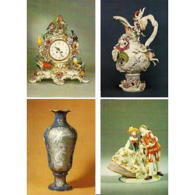 7 Cartões Postais Do Museu De Porcelana De Meissen Alemanha