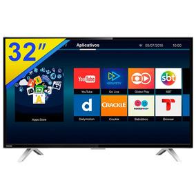 Smart Tv 32 Led Toshiba Conversor Digital E Wifi - 32l2600