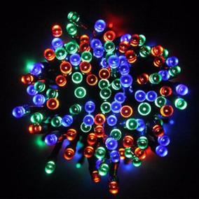 Pisca Pisca Natal Colorido 100 Led 127v 9 Metros 8 Funções