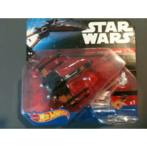Hot Wheels Star Wars Nave X- Wing Fighter Poe´s Negra