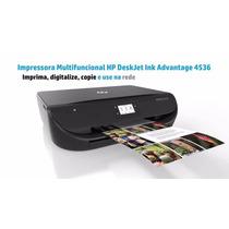 Impressora Multifuncional Hp Deskjet Advantage 4536 Wi-fi