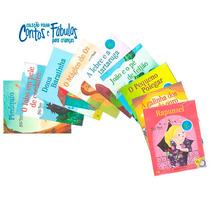 Livro + Cd Coleção Contos E Fábulas Para Crianças A Escolha