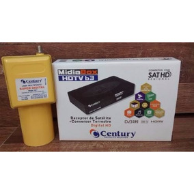 Receptor Century Midiabox B3 + Multponto Super Digital