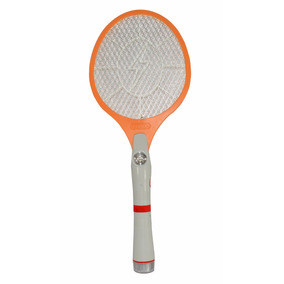 Raqueta Electrica Mata Insectos Moscas Mosquitos Recarg 2014
