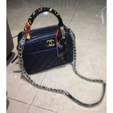 Bolsa Chanel Em Couro Lançamento Original Na Caixa Promoção