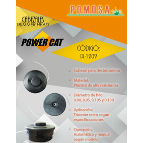 Cabezal Dl-1209, Power Cat