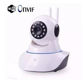 Camera Ip Wireless Sem Fio Wifi Hd 2 Antenas - Promoção