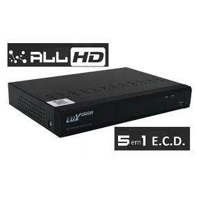 Dvr Hvr Ecd All 8 Canais 5 Em 1 Lvdvr9808a 1080p Luxvision